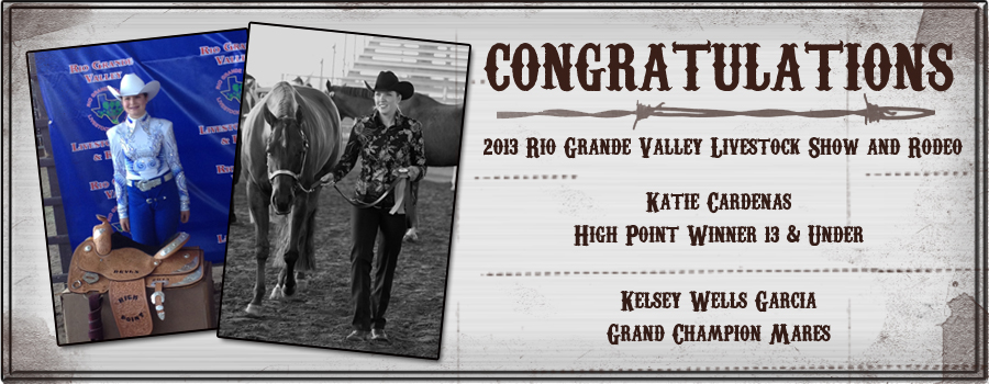 Katie Cardenas and Kelsey Wells Garcia win at Rio Grande Valley Livestock Show and Rodeo